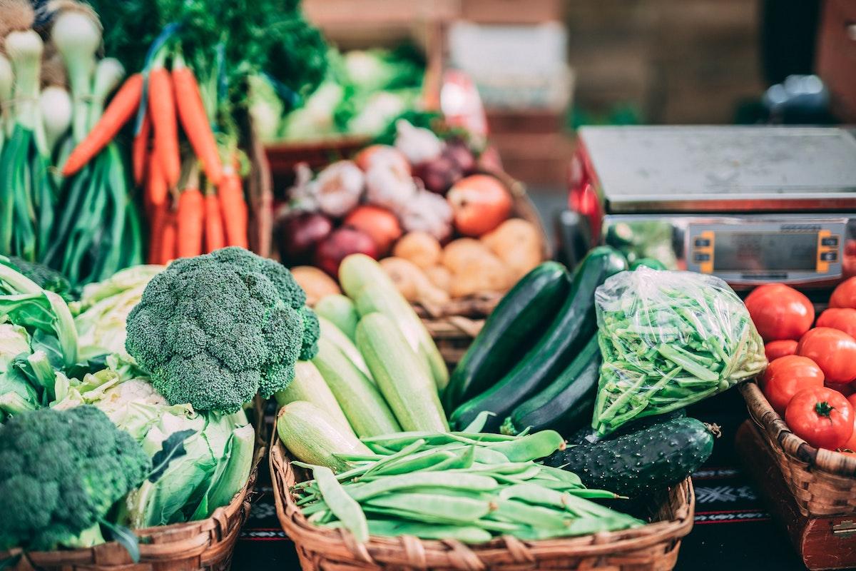 Légumes du marché par Chartwell et Jean-François Plante