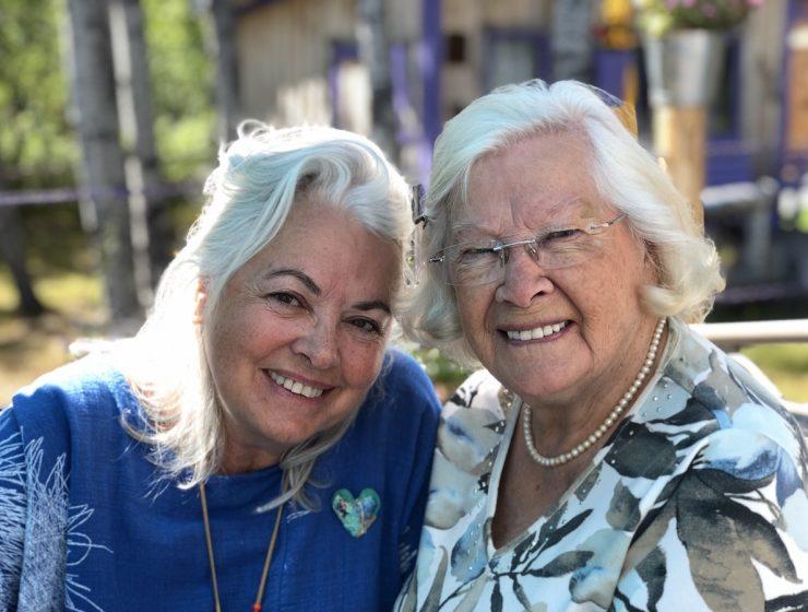 Louise Portal et Jeannette Rivière